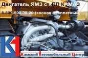 Переоборудование комплект установки двс Ямз на Камаз фото