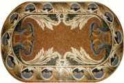 Мозаичные ковры из натурального камня фото